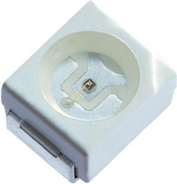 SMD IR LED - 880nm, 2000mW, 120° (PLCC2)