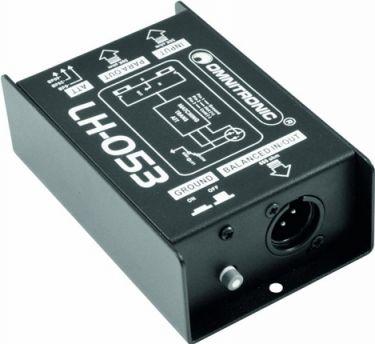 Omnitronic - Omnitronic - LH-053 Passiv DI box