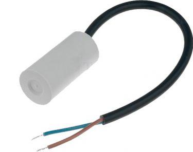 MOTOR kondensator - 8uF / 450V, Ledning