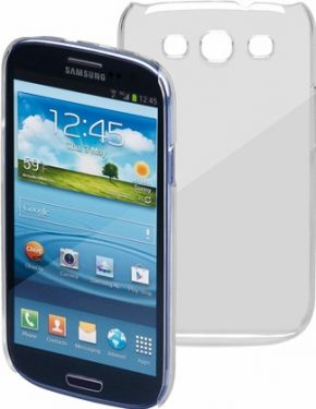 Bag cover til Samsung Galaxy S3 (i9300) - Transparent