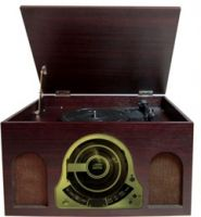 RP150 Record Player Wood Combo