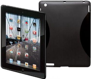 GOOBAY - TPU bagcover til iPad 2/3/4 - Sort