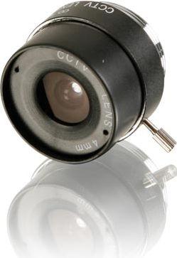 CCD kameralinse - F2,0 / 4mm, 73°