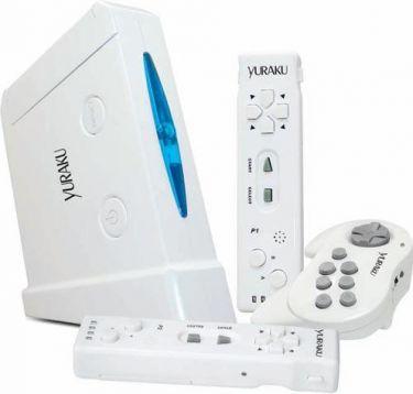 Yuraku VMAX 16 Retro spil-computer med 39 spil