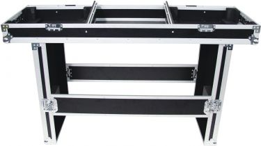 Roadinger Console Road Table for 2 Turntables