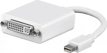 DisplayPort adapter - Mini DP han til DVI-I(24+5) hun (0,2m)