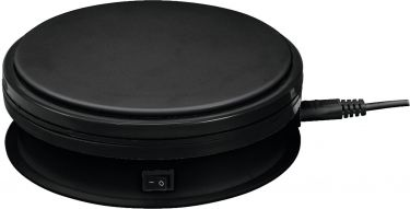 Europalms Rotary Plate 15cm up to 5kg black