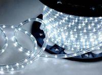 LED Lyskæde kraftig Ø13mm / 50m, hvid (også godkendt til brug udendørs, IP44)