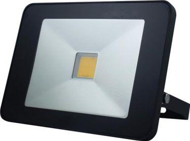 PEREL - LED facadespot m. PIR sensor - 50W, Neutral hvid (IP65)