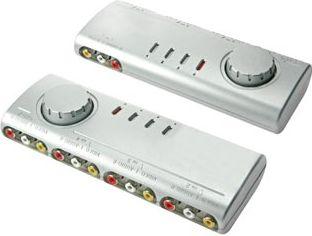 Audio/video omskifter - 4 ind til 1 ud