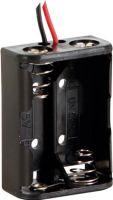 Batteriholder til 2 x N bat. (m. ledninger)