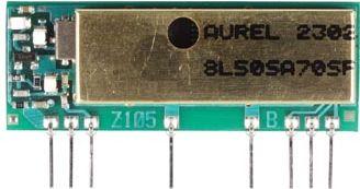 868,3 MHz Super-het PLL RF Reciever