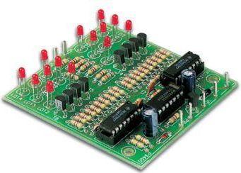 Velleman - K3400 - Dobbelt elektronisk terning