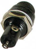 Sikringsholder - 5 x 20mm, til kabinet (maks. 6,3A)
