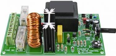 Velleman - K2636 - AC motor hastighedsregulator