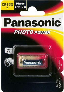 Panasonic - CR123A Lithium batteri, 3V / 1550mAh