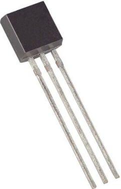 BC640 PNP-SI transistor - 80V / 1A / 0,8W (TO92)