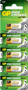 23AE 12V alkaline battery - 5 pieces on a blister