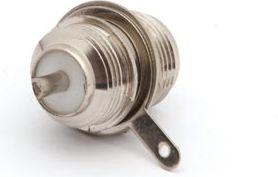 N stik - N hun til kabinet, Ø15,6mm (lodde type)