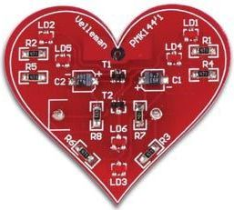 Velleman - MK144 - SMD blinkende hjerte