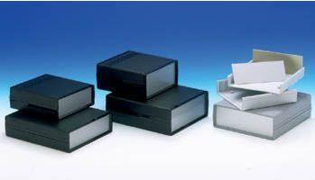 TEKO kabinetter - TEKO panel ABS kabinet - Sort (173x154x54mm)