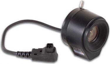 CCD vidvinkellinse - F1,4 / 4mm, 80°, DC autoiris