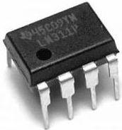 LM311 Differential Comparator m. strobe (DIP8)