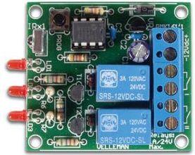 Velleman - MK161 - 2 kanal IR fjernbetjeningsmodtager