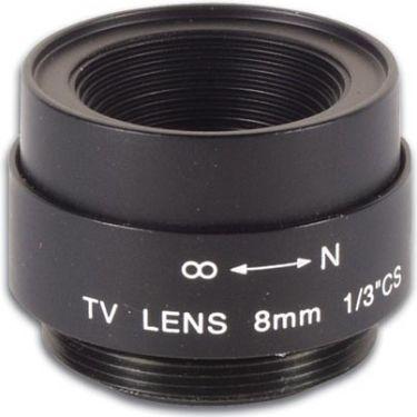 CCD telefotolinse - F2,0 / 8mm, 40°