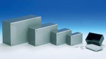 TEKO kabinetter - TEKO kabinet CP/4 - Grå (215x130x83mm)
