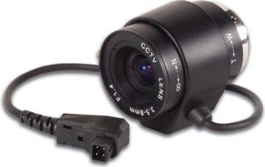 CCD zoomlinse - F1,4 / 3,5-8mm, DC autoiris (2,3x zoom)