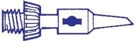 Portasol - Spids til GAS/PROF og GAS/SET - 2,4mm