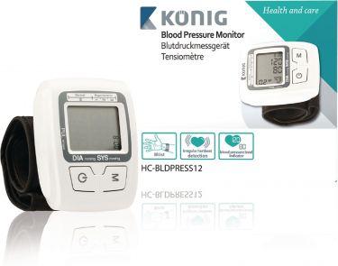 Digital blodtryksmåler - Håndledstype HC-BLDPRESS12