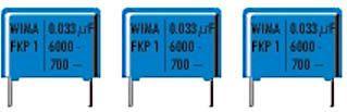 WIMA - FKP1 polypropylen kondensator - 2,2nF (0,0022uF) 1600V 22mm